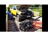 Ford ranger with BMW engine and gearbox!!!