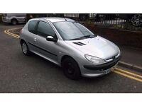 2002 Peugeot 206 1.1 Look 3dr Hatchback, Only £395