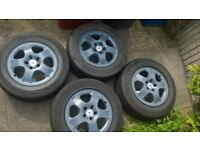 Mercedes ML wheels & tyres
