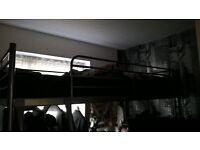 Ikea loft metal bed