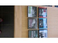 FAB COLLECTION OF AUDIO BOOKS BY PETER ROBINSON No1 BEST SELLING AUTHOR GREAT PRICE £15 THE LOT