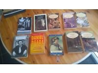 LARGE BUNDLE OF CLASSICS BOOKS ALL EXC COND 10 IN TOTAL ONLY £5 GREAT PRESSIE