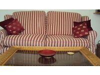 3-seater sofa extremely comfy very good condition all washable