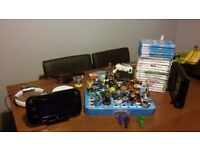 Bargain Christmas Present Bundle - Wii u with lots of extras plus 20 games