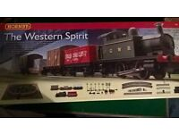 Hornby train set - GWR western spirit - new boxed. ideal Christmas present