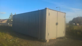 PORTABLE CABIN-24ft x 10ft-SHIPPING CONTAINER-WORKSHOP CABIN-STORAGE CONTAINER