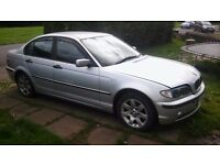 Cars parts spares or repaires bmw 316i 03 reg drives 150£ or parts