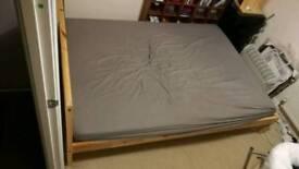 Ikea Fjellse/Malfors bed & mattress