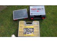 3no storage boxes