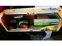 Claas ares set Tractor & Trailer New boxed
