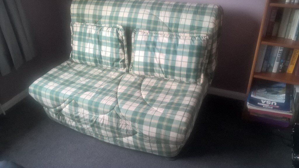 2 Seater Sofa Bed with Removable Cover in Excellent Condition