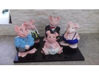 Nat West Pigs Collection