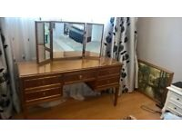 Dressing table, furniture