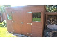 Shed 10ft x 8ft. Good condition. Tongue and Groove cladding