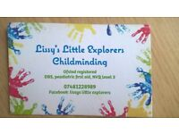 Basingstoke ofsted reg. childminder - funding accepted - 1 full time slot available 0-4years