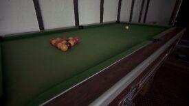 Slate Pool Table - 7x4 ft