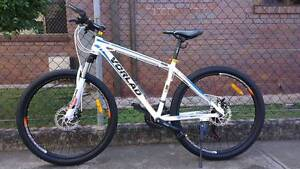 sell new white VORLAD MTB, shimano 21 speeds, diskbrakes systems New Farm Brisbane North East Preview