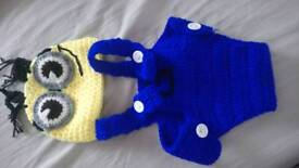 Baby minion outfit