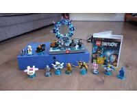Lego Dimensions PS3 game, USB portal and extra figures