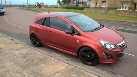 Corsa Limited Edition 2012 -full service history