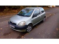 Toyota Yaris In good condition , 6 months MOT , perfect for a first car £ 400 ono