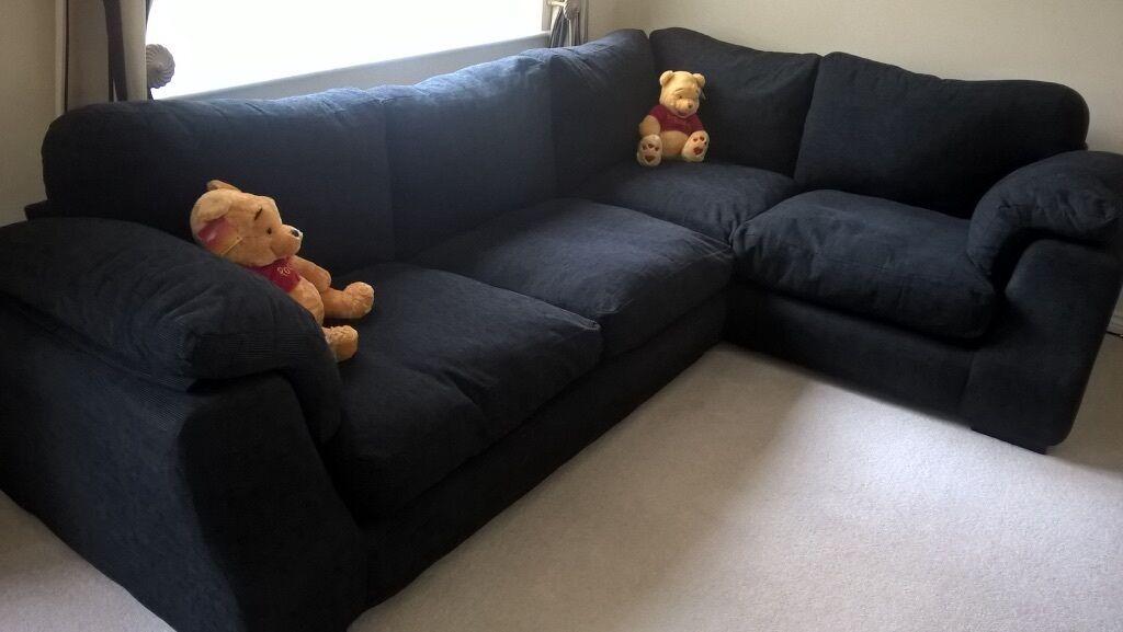 super comfy corner sofa in hilton derbyshire gumtree. Black Bedroom Furniture Sets. Home Design Ideas
