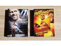WWE WWF DVD Box Sets - Shawn Michaels and Hulk Hogan