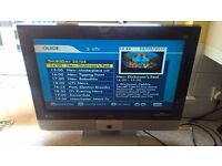 Bush 26 inch lcd hd tv with built in freeview