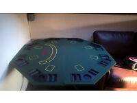 Green Poker Tabletop Set