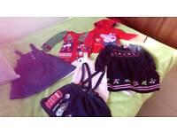 Girl winter clothes bundle 3-4 NEXT, JOJO MAMAN BEBE, TU