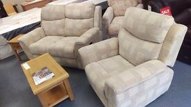 2+1 Recliner Sofa - brand new, bargain price, Delivery included!