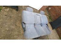 Toyota Van Rear Double Fold Back Seat