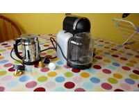 nespresso magimix Coffee Maker and milk frother