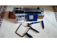 Small Tile tiling kit. B& Q Tile cutter, nibbler, saw and hard point.