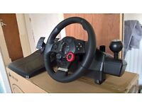 Logitech Driving Force GT. Like new! Original Box and manuals included.