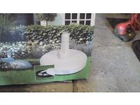 LARGE Parasol/Rotary Air Dryer Base - boxed.