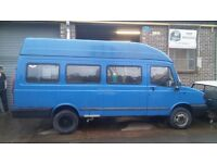 2001 LDV CONVOY Minibus with High Top Roof. 12m MOT. Gutted and Welded