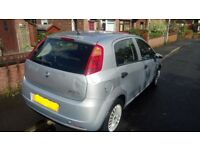 **2007 57 Reg Fiat Punto Grande 1.2 5DR Long MOT Low Tax AND Low Insurance Low Mileage