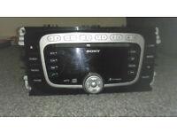 Ford Sony 6 CD MP3 Radio