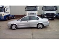 Jaguar x-type 2004 2.0d mot until 05/2018 spares repair due to injector