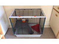 Ferplast rat/ferret animal cage with accessories