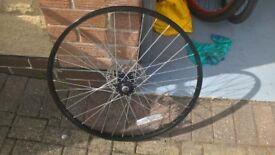 "26"" front mountain bike wheel"