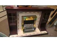 Electric fire with surround excellent condition delivery available