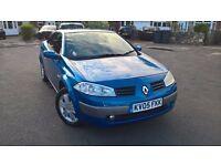 2005 Renault Megane 1.6 Convertible.. **Low Mileage*