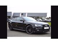 Audi 2016 A5 Special edition 190 Quattro Black edition plus.2dr Black,7500 miles.