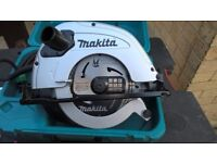 "Makita 5704R - 7"" (190mm) Circular Saw - 110v As New"