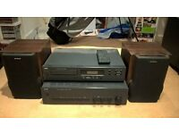 **EXCELLENT CONDITION **MUST GO** NAD 501 Compact disc player & NAD C320 Stereo Amp & 2xAIWA speak