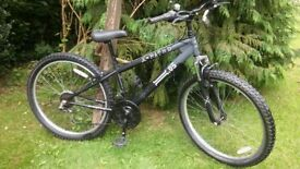 x rated 05 front suspension 21 speed 14.5 in frame,tidy bike,runs well