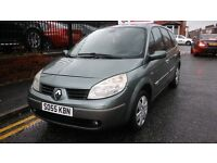 2005 Renault Grand Scenic 1.6 VVT Dynamique 5dr (Euro 4)Hatchback, 7 seats, great family car, £895