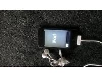 ipod touch woth front camera, earphones and charger. its in good condition selling as i never use it